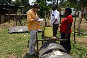 Autor Dierk Jensen in Kenia